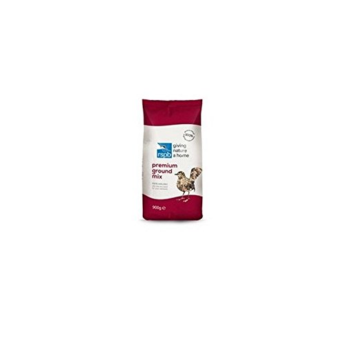 RSPB Ground Seed mix Wild Bird food (900G) (confezione da 4)