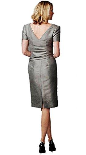 Meibida - Robe - Femme gris Picture color