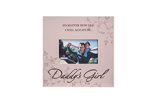 Children Come Frame - Malden International Designs Daddy's Girl Storyboard Wood Picture Frame, 4x6, Brown