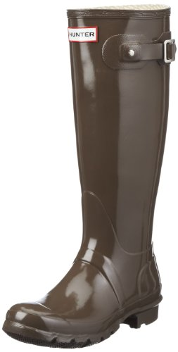 Hunter Gloss Boots Women's Rain Cocoa Original x1Sq6HO