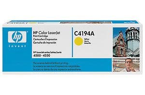 HP Laserjet 640A  Yellow Toner in Retail Packaging (C4194A), Office Central