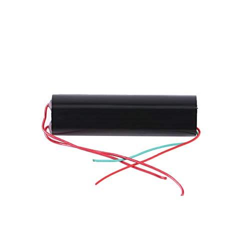 Trasformatore di alta tensione DC Boost Step-up accensione bobina modulo generatore di impulsi ad alta tensione DC 3V-6V a 800-1000KV Nero