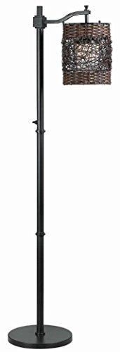 Kenroy Home 32144ORB Brent Outdoor Floor Lamp (Brent Wicker)