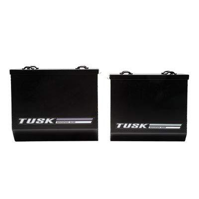 Tusk Aluminum Dual Sport Adventure Panniers - MEDIUM BLACK