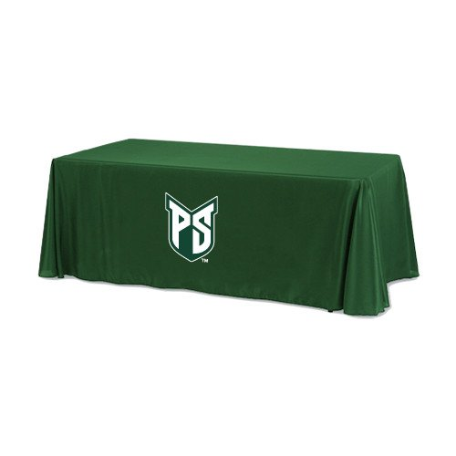 Portland State Dark Green 6 foot Table Throw 'Official Logo' by CollegeFanGear
