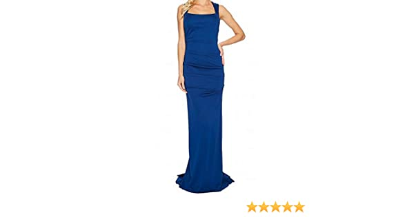8ebc8b0700a64 Adrianna Papell Womens Sleeveless Ruched Lola Jersey Gown at Amazon Women s  Clothing store
