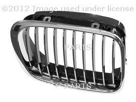 BMW OEM Grill / Grille RIGHT for 320i 323i 325i 325xi 328i 330i 330xi by URO PARTS (Chrome Oem Grill)