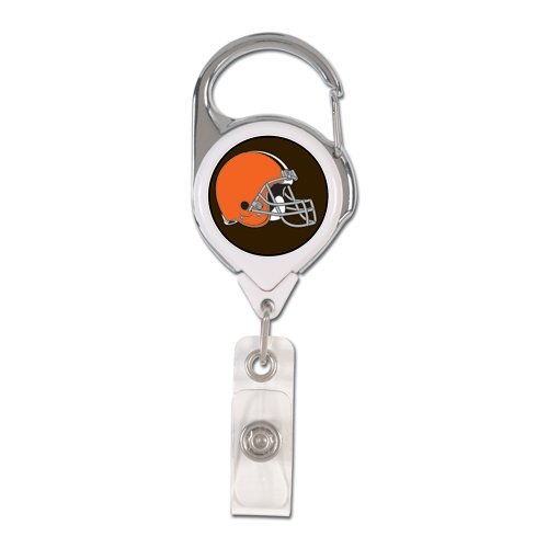 NFL Cleveland Browns Retractable Premium Badge Holder, Team Color, One - Cleveland Premium Outlets