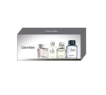 fe9ca1d528 Calvin Klein for Men 4 Piece Miniature Fragrance Gift Set CK Free Eau de  Toilette 10ml, ...