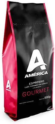 Café Torrado em Grãos América Gourmet - Pac. 500 g