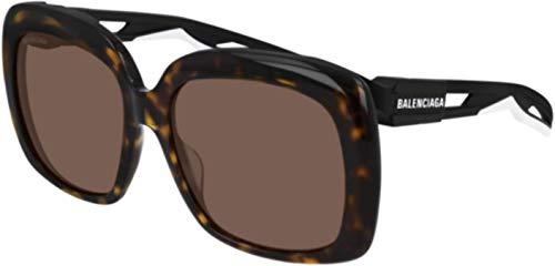 Sunglasses Balenciaga BB 0054 SA- 002 Havana/Brown Black