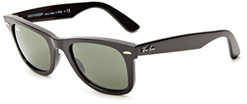 Ray-Ban RB2140 Wayfarer Sunglasses (Black Ban Wayfarer Ray Cheap)