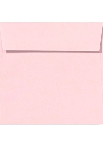 5 1/2 x 5 1/2 Square Envelopes - Candy Pink (50 Qty.)