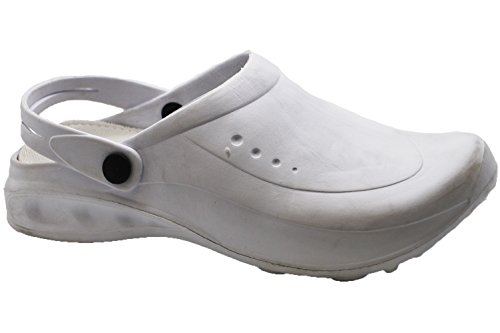 Unisex Hey Lightweight Nursing And Uniforms Medical Clogs White Gardening qtwrCt4