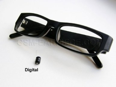 139eaab1fa Image Unavailable. Image not available for. Color  BEST Exam Gadget Bluetooth  Spy Glasses Digital Micro Earpiece Set