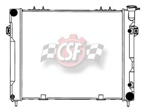 jeep cherokee csf radiator - 5