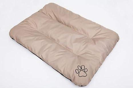 Hobbydog R1 ecobez5 Cama para Perros Eco Dormir Espacio Ruhe Espacio Perros Colchón Perro Cojín, 90 x 60 cm, L, Beige: Amazon.es: Productos para mascotas