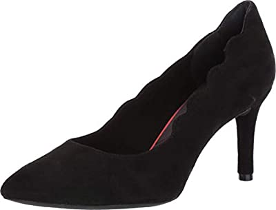 Rockport Total Motion Pointy Toe Scallop Pump Womens CH5725