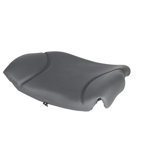 Backrest - Gray Vinyl Skid Steer Compatible with Bobcat S205 S150 763 S185 T140 T190 S175 863 T200 T180 S220 864 873 S300 S130 T300 S160 A300 T250 773 John Deere 315 270 317 328 260 240 250 320 325