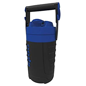 Igloo 1/2 gallon Insulated Hydration Jug, Majestic Blue/Black, 64 oz