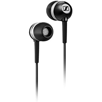 Sennheiser CX 300 II Precision Enhanced Bass Earbuds, Black