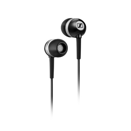 Sennheiser CX 300 II Precision Enhanced Bass Earbuds, Black