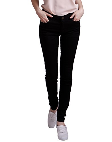 Juniors Black Denim - 8
