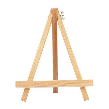 TuToy Caballetes de madera duraderos de madera Pantalla Trípode Artista Artista Pintura Soporte de pintura Bastidor - # 01