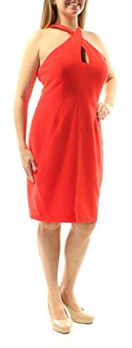 Calvin Klein Robe Des Femmes, Orange, 14