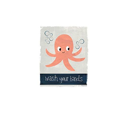 Lava Los Manos Octopus Gracioso Mujer Camiseta XS-2XL Nuevo Blanco