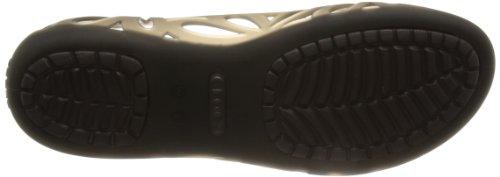Crocs Adrina Iii Flat - Bailarinas Marrone (Espresso/Espresso)