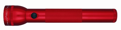 Maglite LED 3 Cell Flashlight Red