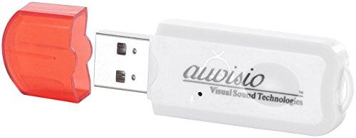 auvisio Bluetooth-Musik-Adapter BTA-28 für alle USB-Host-Geräte