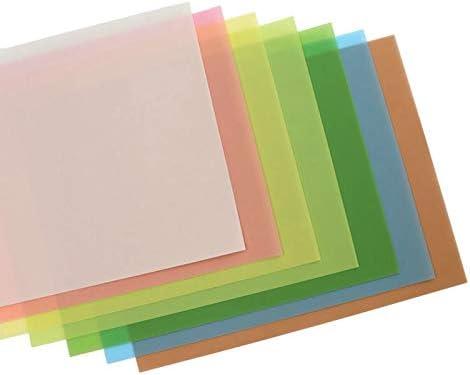 Bestlymood 7Pcs//Set Lapping Film Sheets Assortment Precision for Polishing Sandpaper 1500//2000//4000//6000//8000//10000//12000 Grits