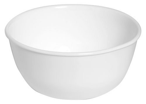Corelle Livingware 28-Ounce Super Soup/Cereal Bowl, Winter Frost White