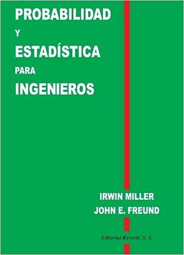Probabilidad Y Estadística Para Ingenieros: Amazon.es: Irwin ...