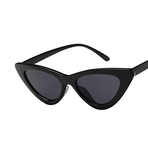 Marco Lentes Mujer Polarizadas Gato De Ojo HD Negro Ligero Triangular Gafas Gris Sol Ketamyy Marco Nuevo De RqzwIdPP