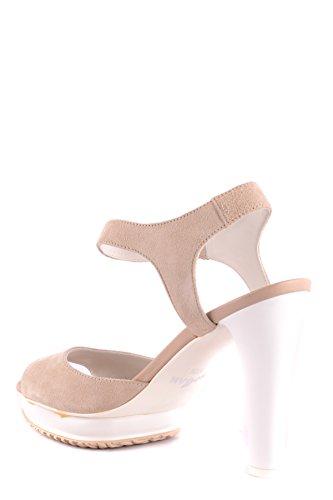 Women's Beige MCBI148537O Hogan Suede Sandals 6xdqwfFqU