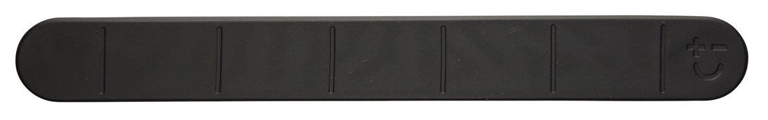 Magmates MMKR01-30-B Knife Rack, Rubber, Black Bisbell magnets MMKR01-30-BK