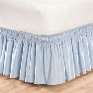 dust ruffle light blue - 9