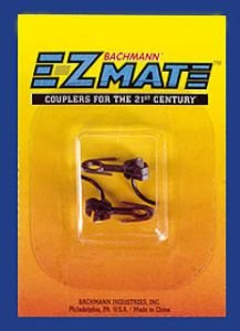 Coupler Magnetic (Bachmann Trains E-Z Mate Magnetic Knuckle Couplers - Center Shank - Medium - HO Scale, Sheet of 12)