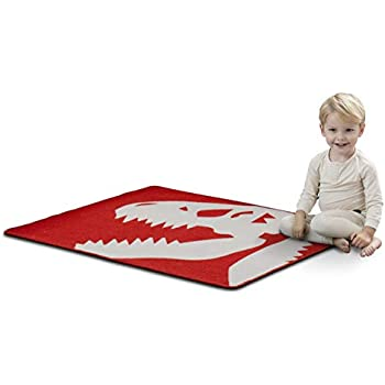Kid Rugs Dinosaur Activity Area Rug Educational Learning Carpet For Boys And Girls Fun Rug Playmat For Bedroom Living Room And Gameroom Fun Play Rug For Boys And Girls Rugs Kolenik Home Kitchen