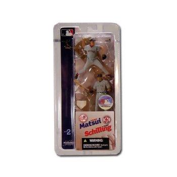 McFarlane MLB Mini-Matchups Hideki Matsui Curt Schilling, Yankees, Red Sox
