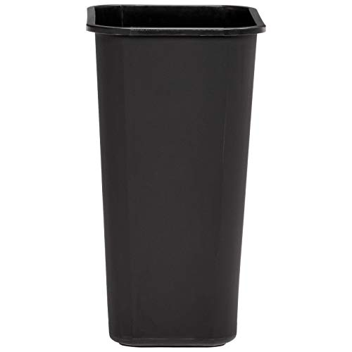 AmazonBasics 10 Gallon Commercial Waste Basket, Black, 12-Pack by AmazonBasics (Image #4)