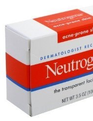 Neutrogena Acne-Prone Skin Formula Facial Bar 3.5 oz (Pack of (Acne Prone Skin Formula)
