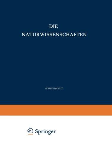 Die Naturwissenschaften (German Edition)