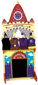 Montessori N' so Deluxe Puppet Theater mit Puppet Friends