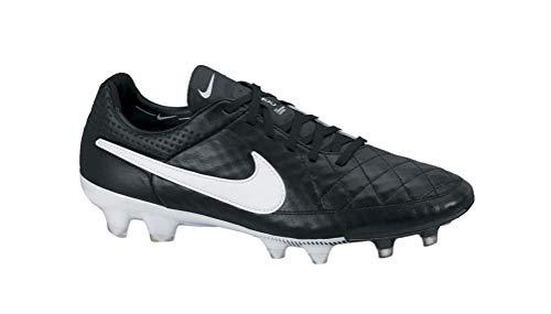 Nike Tiempo Legend V FG Black-White 631518-010 Men's Soccer Cleats 5 US
