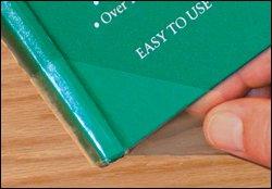 Spine Lock Book Repair Wings - Transparent 5-mil - 24 pk