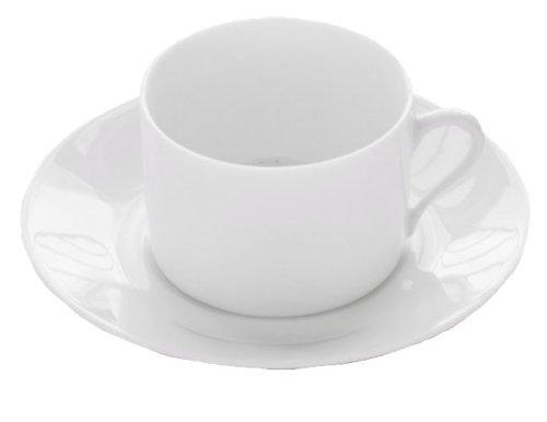 BIA Cordon Bleu Limoges Tea Cup and Saucer, Set of 4, (Limoges Saucer)